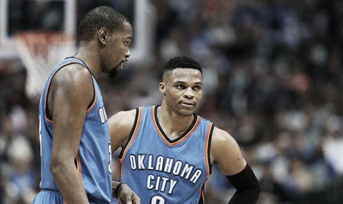 """NBA, Kevin Durant: """"Mai detto a Westbrook che sarei rimasto a OKC"""""""
