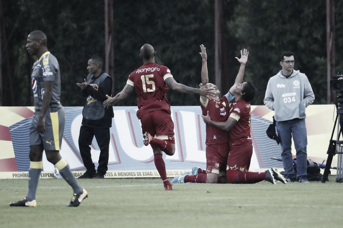 Rionegro derrotó al Independiente Medellín, y le cortó un invicto de cuatro fechas