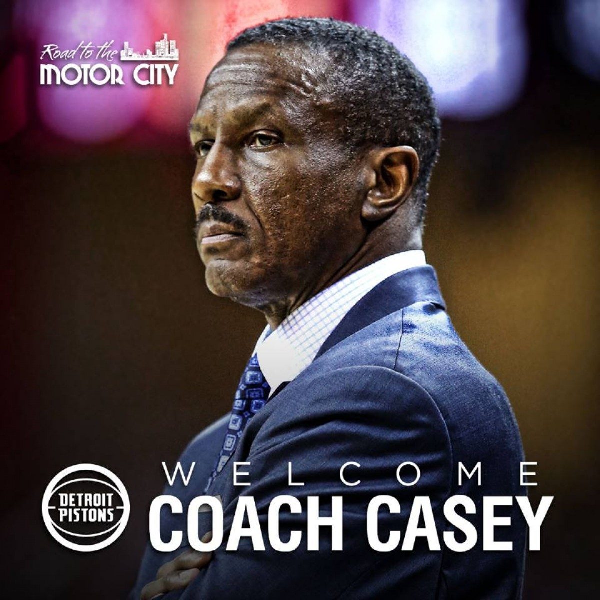 Detroit Pistons name Dwane Casey as the next head coach