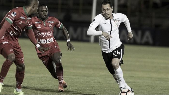 """Corinthians garante empate mas Rodriguinho admite :""""Não foi uma das nossas melhores atuações"""""""
