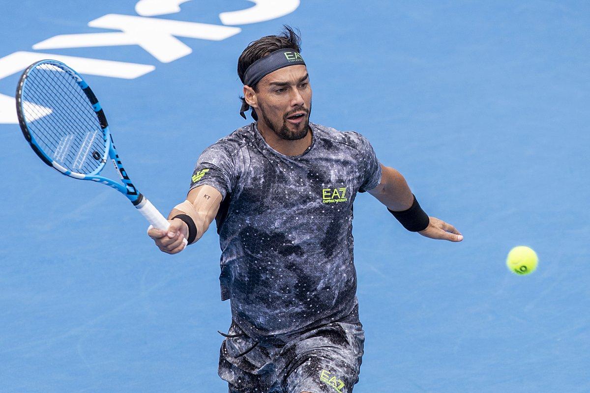 ATP Auckland- Fuori Cecchinato e Berrettini. Rimane ai quarti Fognini