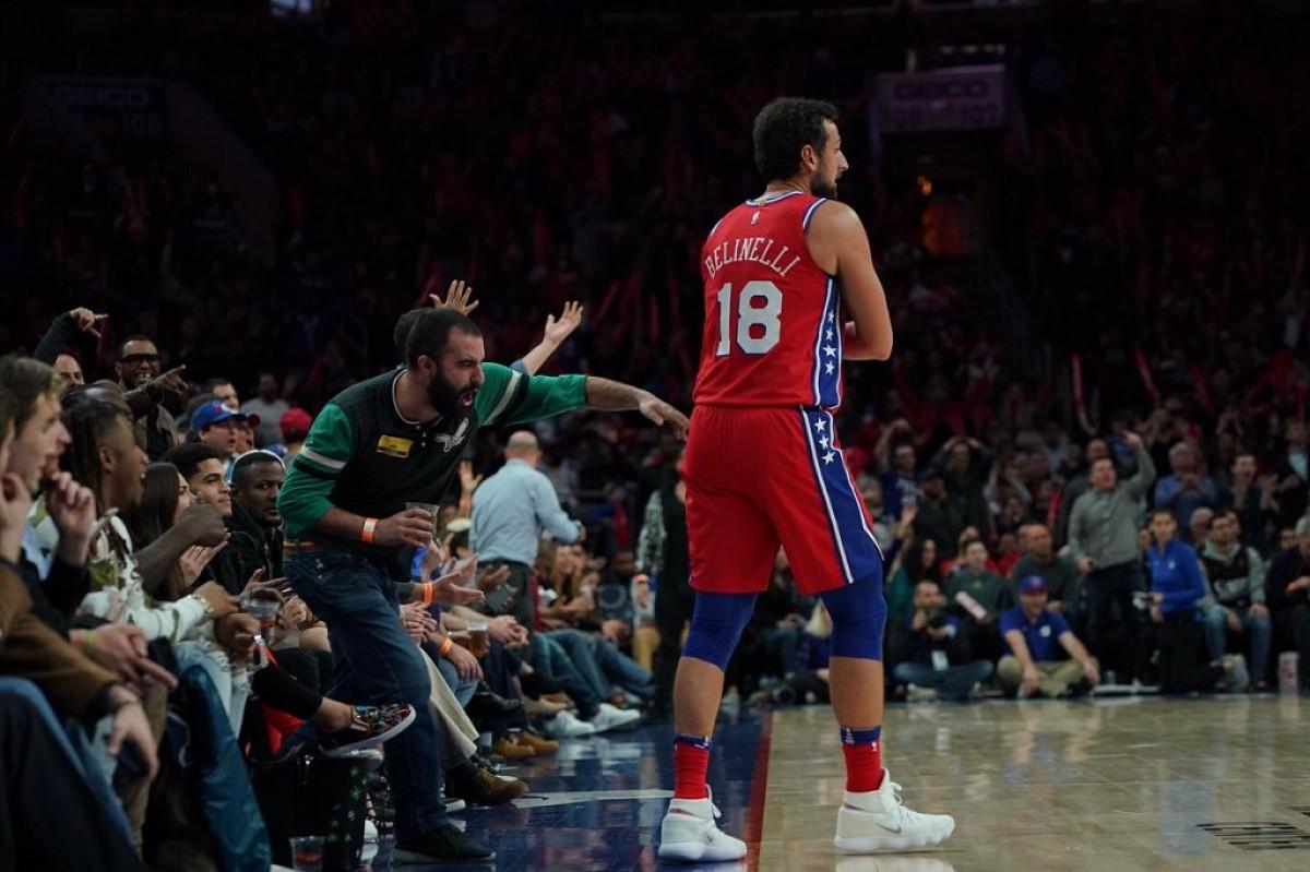 """NBA - Belinelli ed i suoi primi passi ai 76ers: """"Ai playoff senza paura"""""""