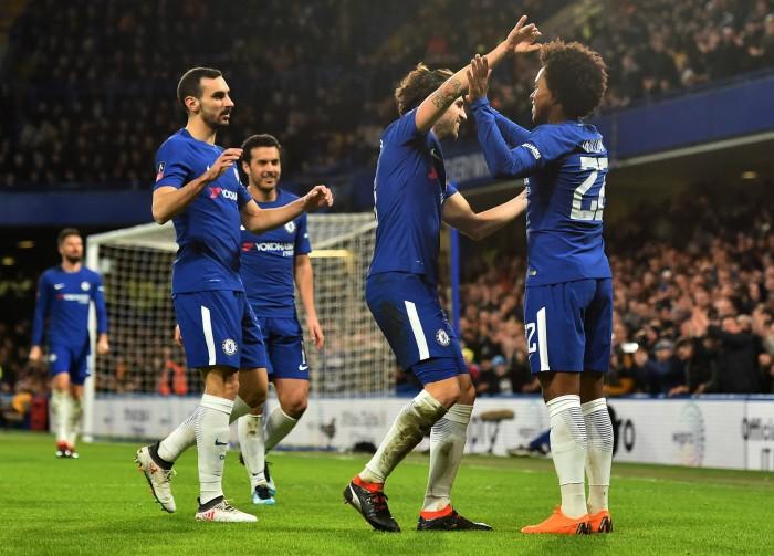 FA Cup - Il Chelsea doma le Tigers: Conte va ai quarti con un 4-0 all'Hull City