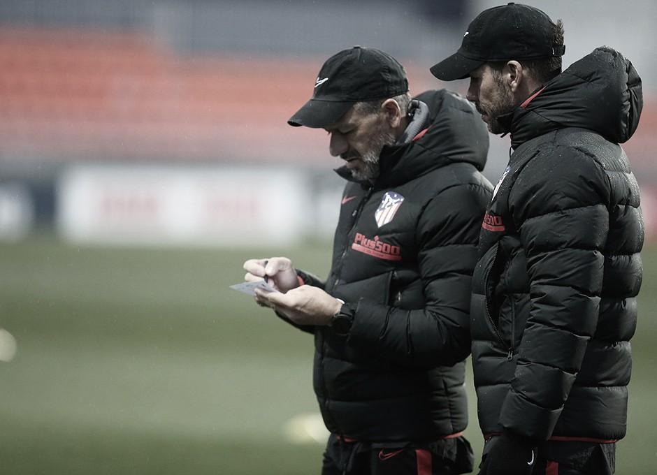 "Simeone: ""Me gustó de Carrasco sus ganas de venir al Atlético"""