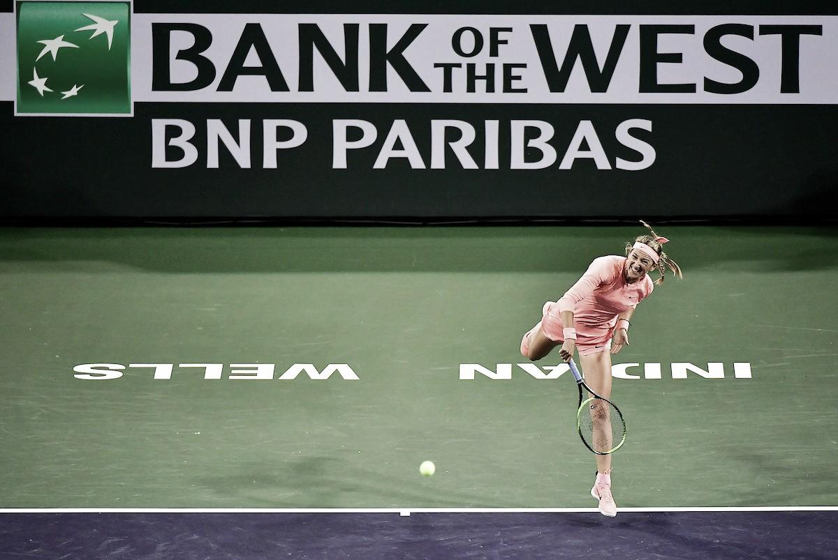 WTA Indian Wells: Victoria Azarenka marks her return with win over Heather Watson