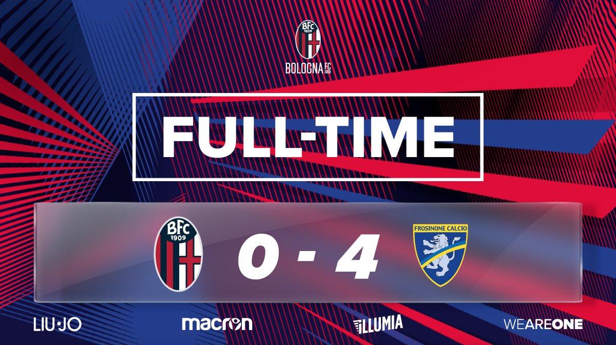 Serie A- Il Frosinone umilia il Bologna 4-0 e ora Inzaghi rischia l'esonero