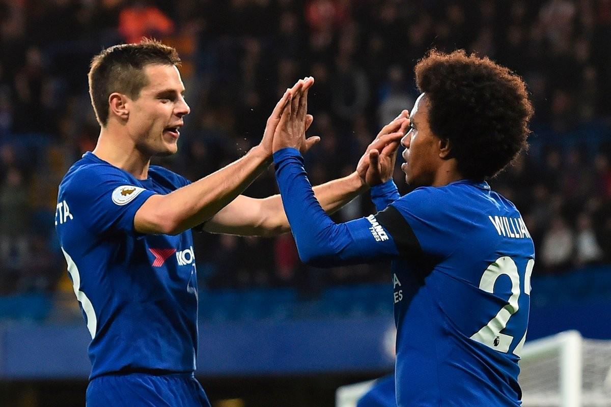 Premier League - Il Chelsea torna a sorridere: Crystal Palace battuto 2-1 grazie ad un super Willian