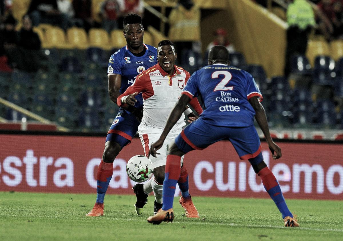 Deportivo Pasto sacó punto valioso en Bogotá ante Santa Fe