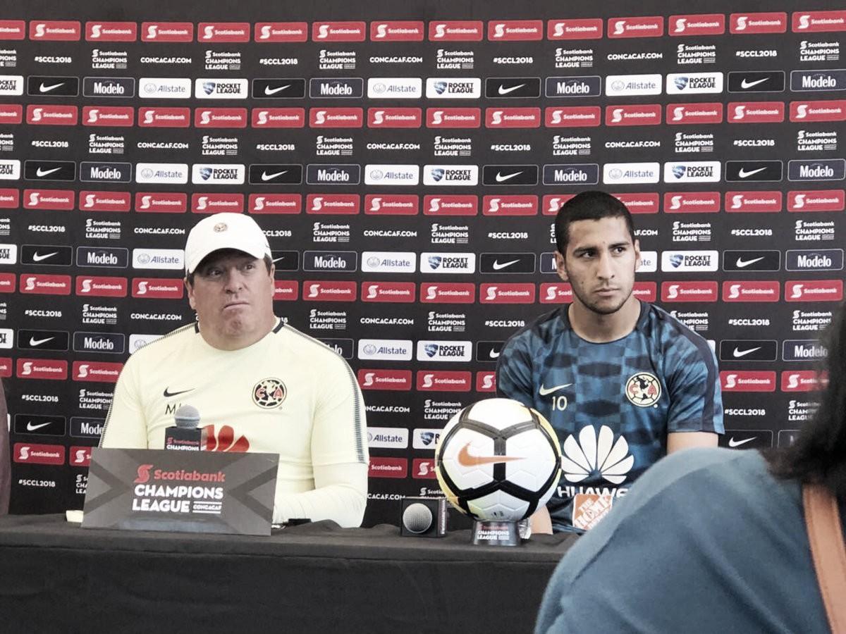"""Miguel Herrera: """"No estamos pensando en el Clásico"""""""