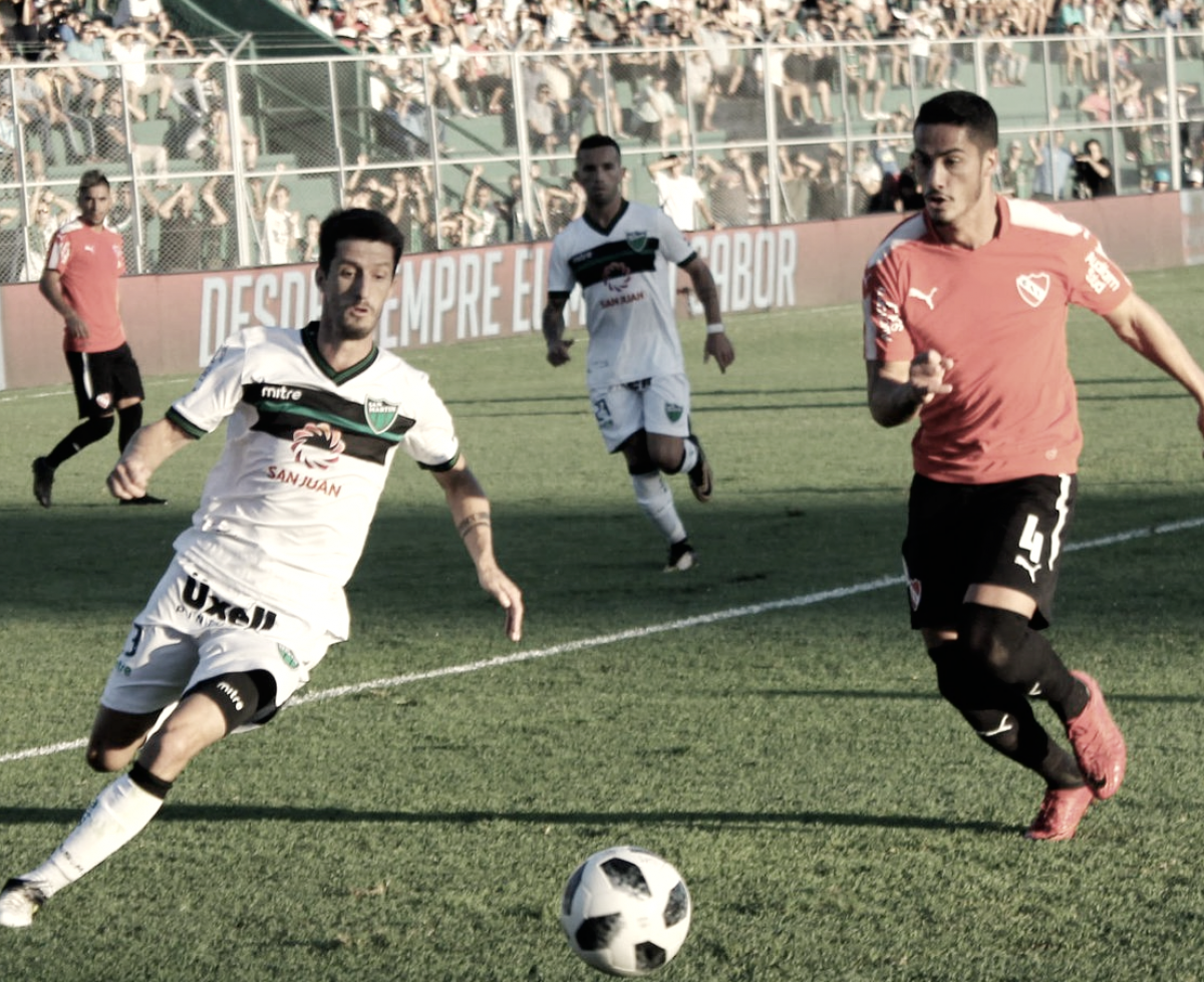 Visitante indigesto: fora de casa, Independiente goleia San Martin e volta ao G-5 da Superliga