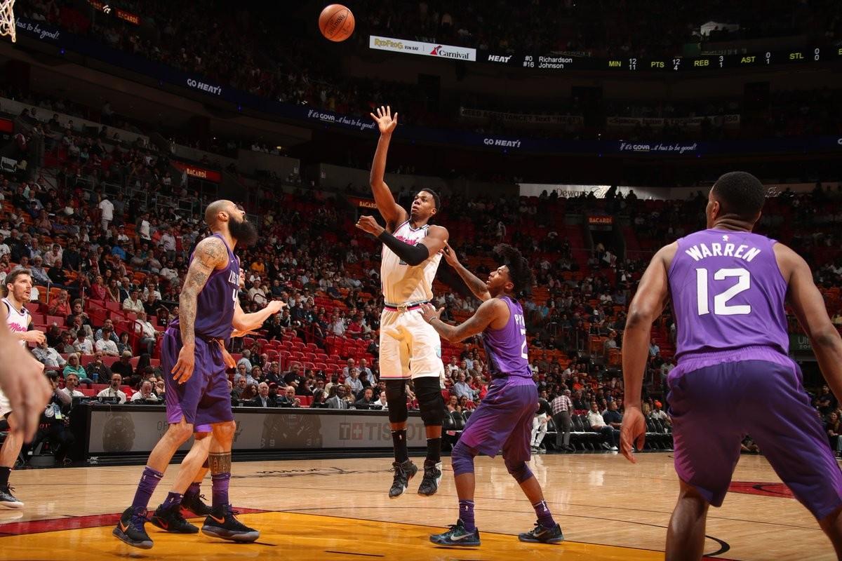NBA - Compito agevole per Miami, Suns k.o; Utah ammaestra i Magic