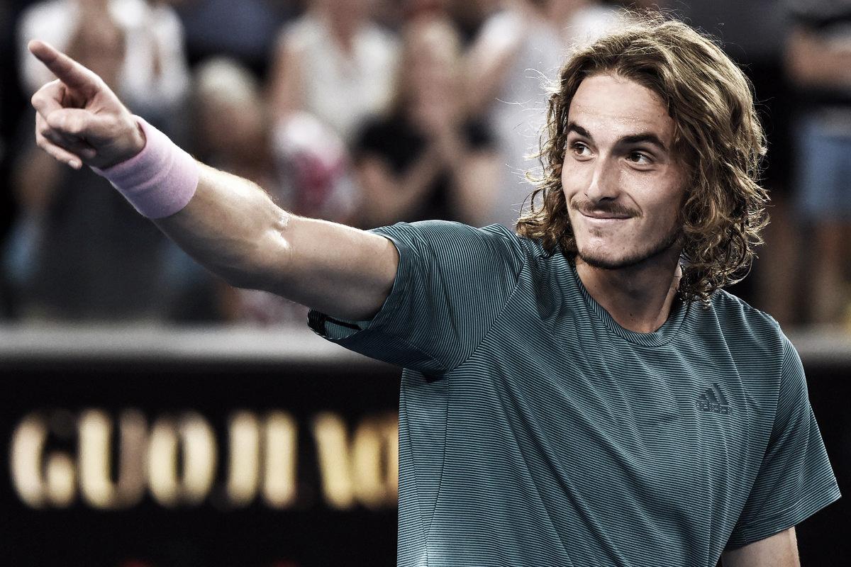 Tsitsipas gana y se cita con Federer