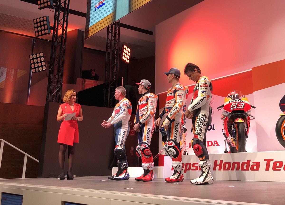 MotoGp- Ecco la nuova Honda del team Marquez-Lorenzo