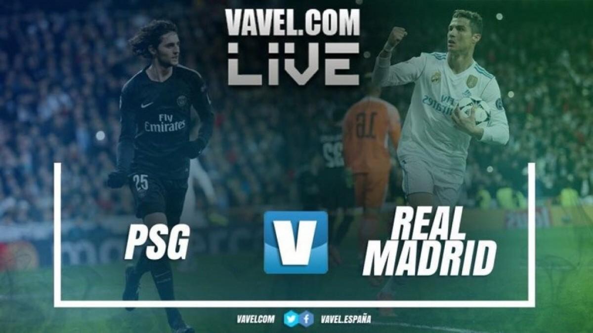 Terminata PSG - Real Madrid, LIVE Champions League 2017/18 (1-2): Blancos, tutto troppo facile