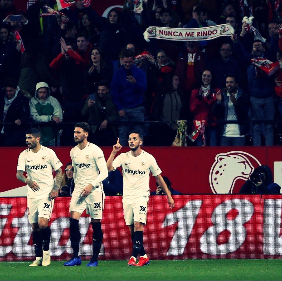 Sevilla vence time misto do Barcelona e sai na frente pelas quartas da Copa do Rei