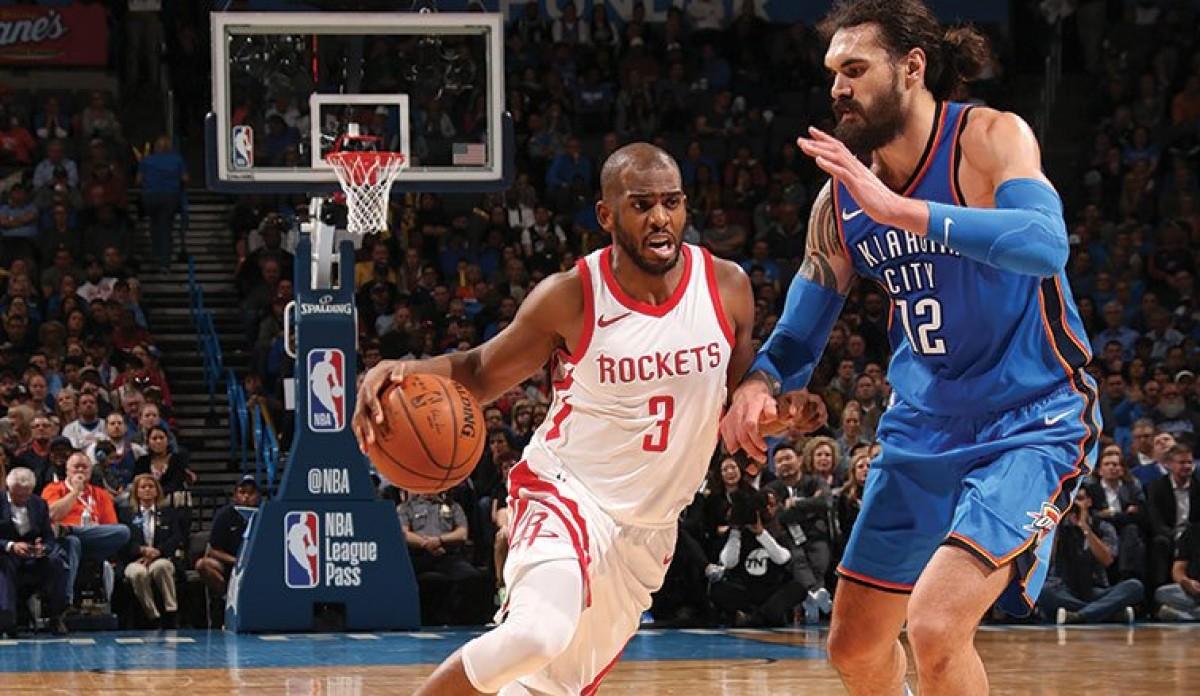NBA - Houston di fuoco, Okc s'inchina; New Orleans di forza in casa Clips