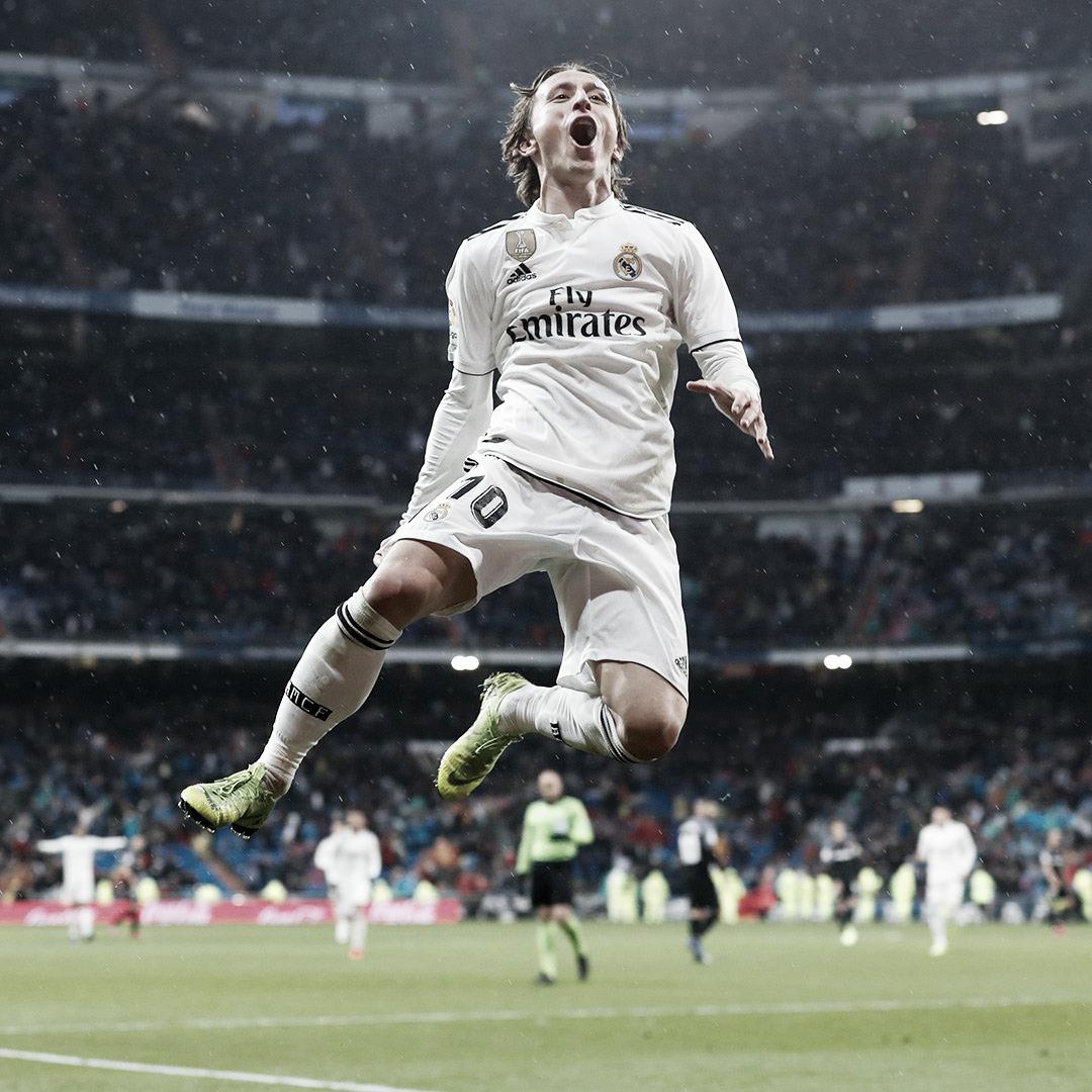 """Modric: """"Necesitábamos un partido como el de hoy para nosotros y nuestros aficionados"""""""