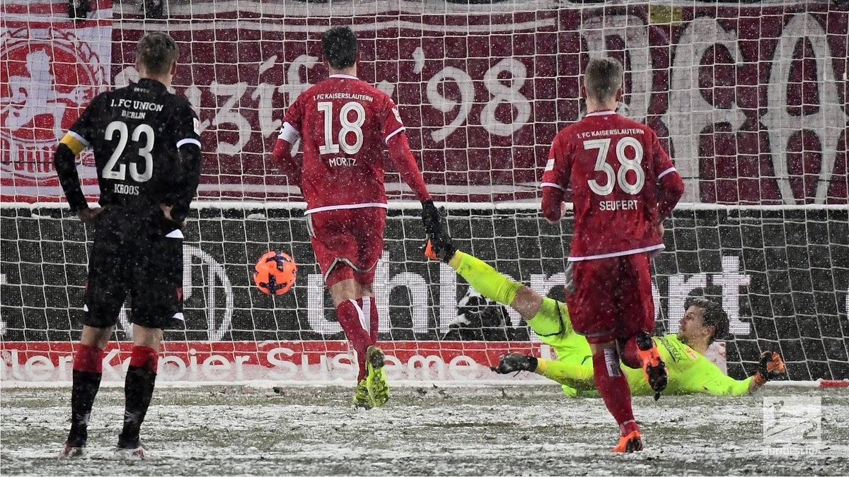 1. FC Kaiserslautern 4-3 1. FC Union Berlin: Phillipp Mwene wins it after three leads let slip
