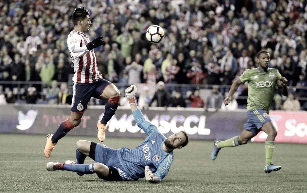 Seattle da el primer golpe y Chivas sufre en Concachampions