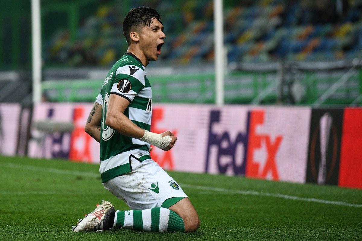 Europa League: tutto facile per lo Sporting Lisbona, due goal di Montero mettono KO il Plzen
