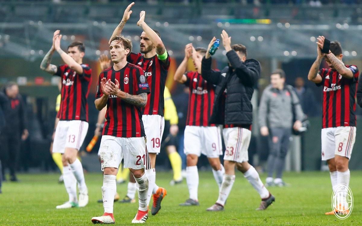 Milan, Conti punGe Montella: