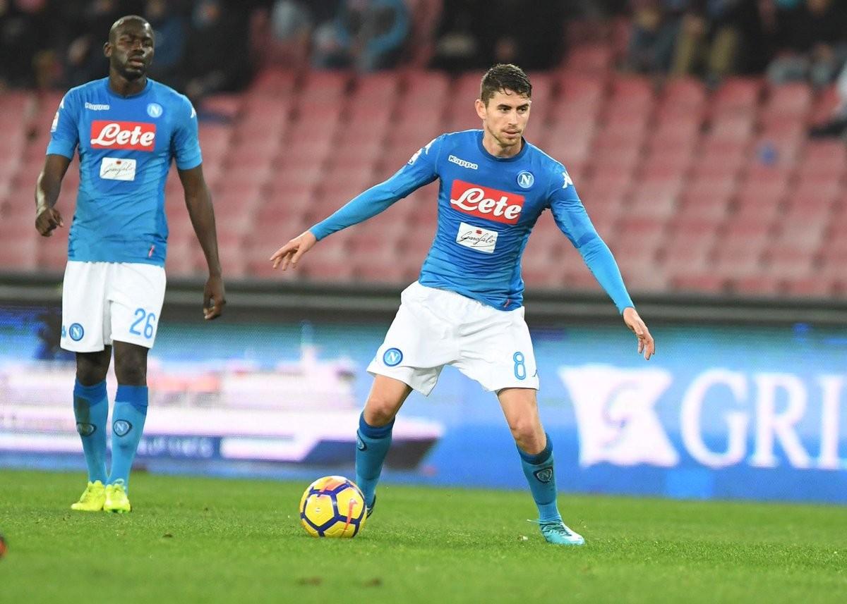 """Italia, Jorginho: """"Ancelotti gran colpo del Napoli; ora non penso al mercato"""""""
