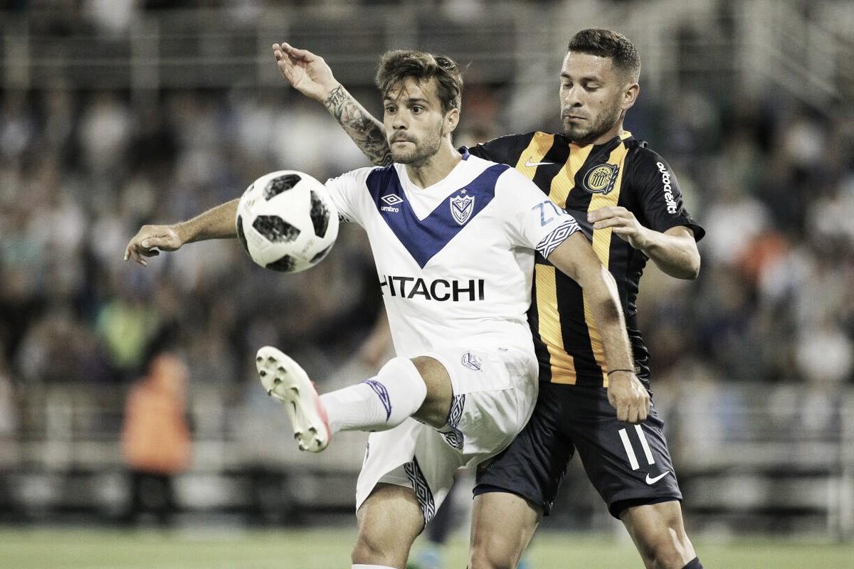 Em Buenos Aires, Vélez e Rosario Central fazem jogo movimentado e empatam pela Superliga