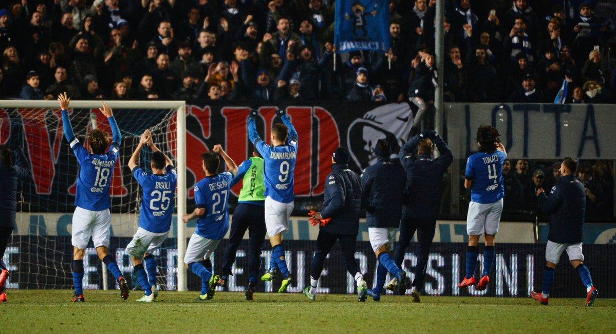 Serie B: vincono Brescia e Palermo, pari Pescara. Questa sera Venezia-Lecce