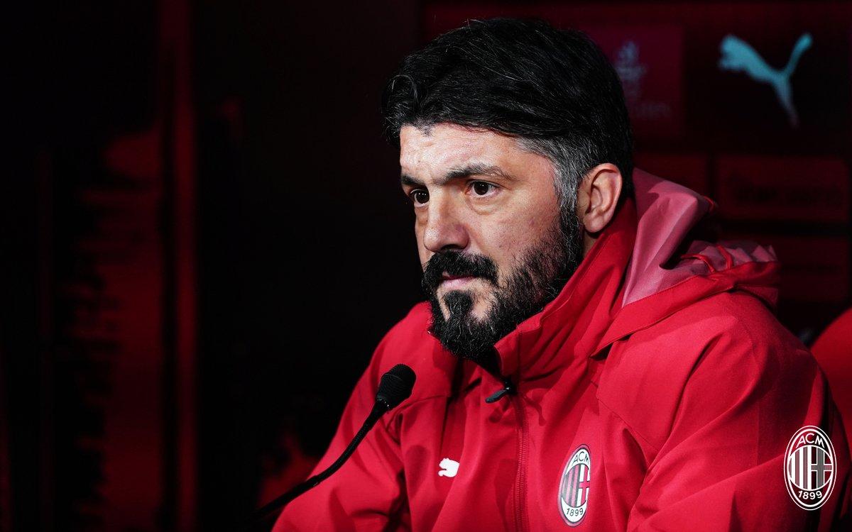 """Milan, Gattuso in conferenza: """"Contro il Cagliari ci giochiamo tantissimo"""""""