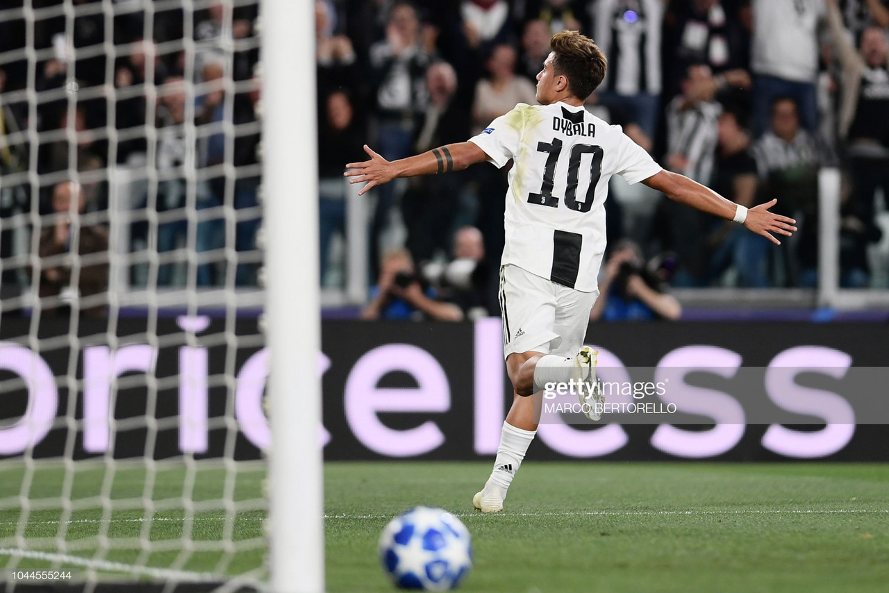 Spurs struggling to reach a deal with Juventus for Paulo Dybala