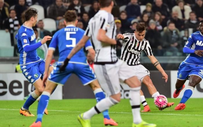 Juventus-Sassuolo, i precedenti