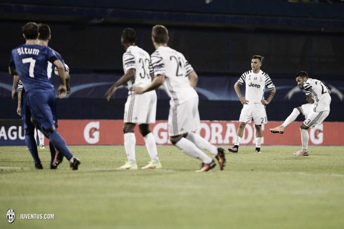 La Juventus se desata en Zagreb