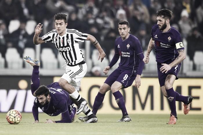 Juventus-Fiorentina, l'inizio è Vecino