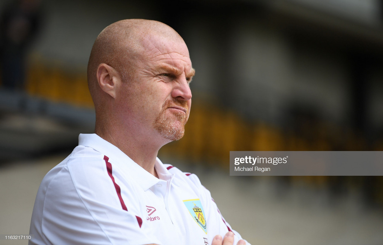 Clarets Team News update as Dyche and Mee look ahead to Arsenal clash