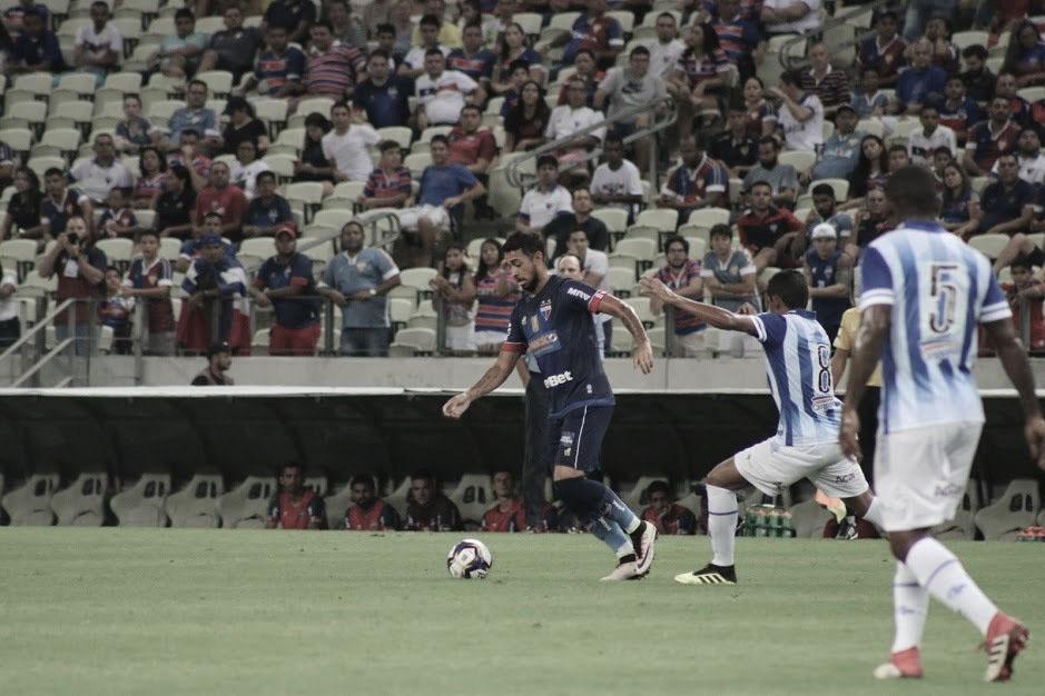 Fortaleza toma conta do jogo, mas só empata contra o CSA no Castelão