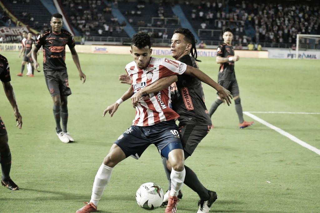 Junior de Barranquilla venció a Independiente Medellín en un show de goles en Barranquilla