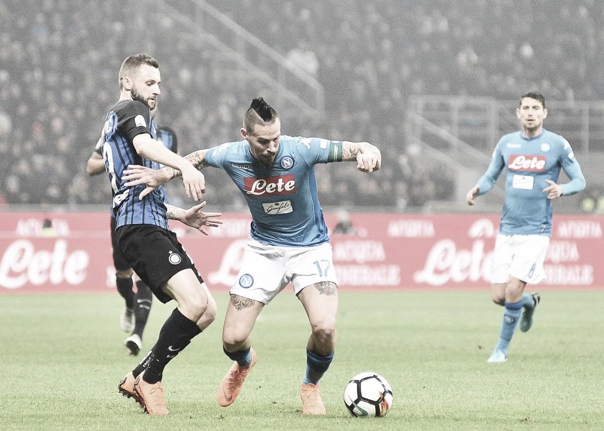 Inter-Napoli, la lista dei convocati di Sarri: out Chiriches