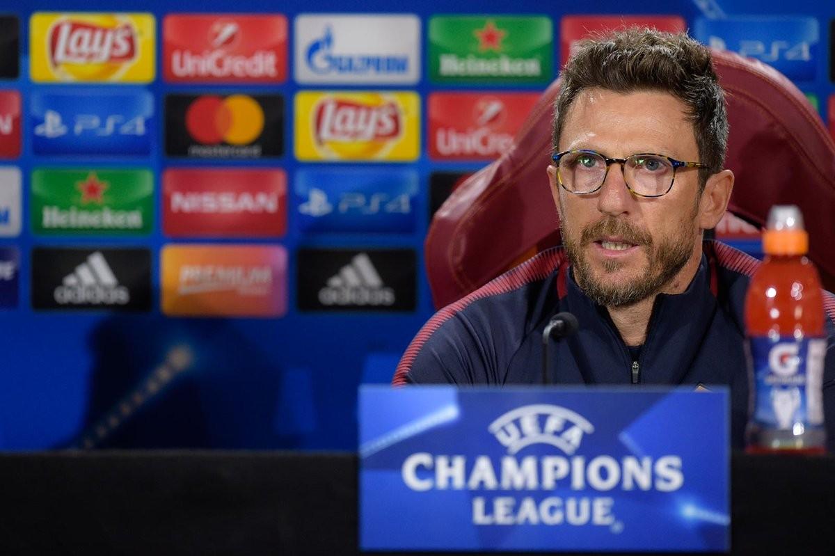 """Champions League - Di Francesco in conferenza: """"Domani non dovremo essere attendisti"""""""