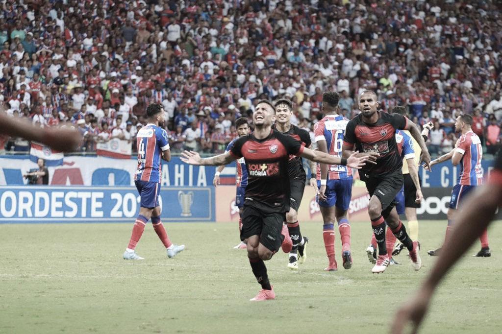 Com belos gols, Bahia e Vitória só empatam na Fonte Nova