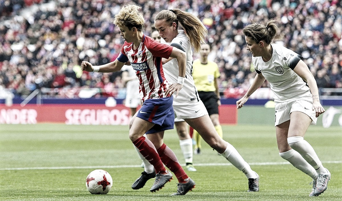 Atlético de Madrid 2 - 2 Madrid CFF: primera final, primer pinchazo