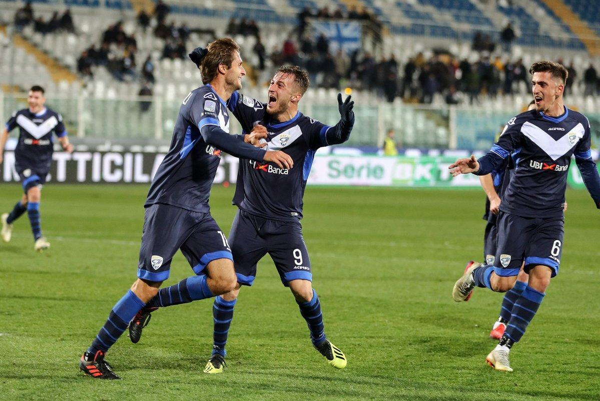 Serie B: il Brescia mette pressione al Palermo, sorridono Perugia e Cosenza