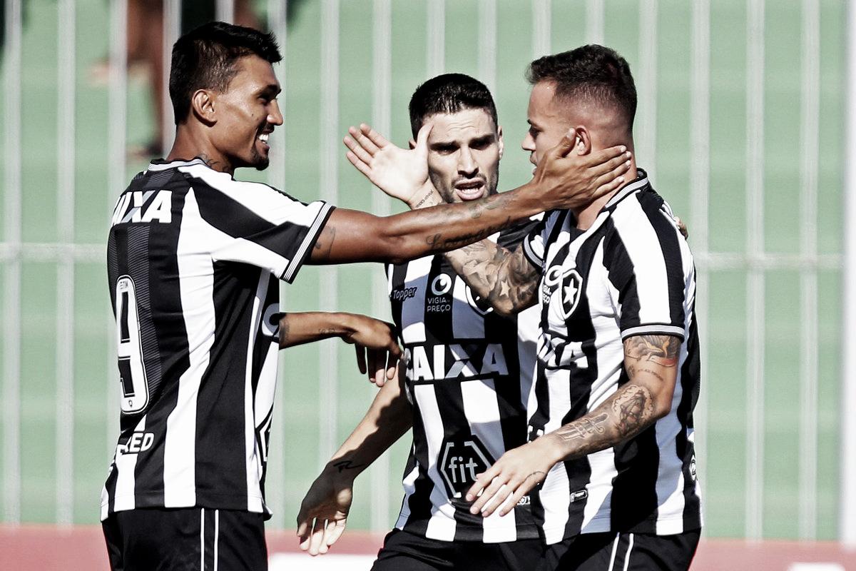 Botafogo bate Boavista fora de casa e conquista primeira vitória em 2019