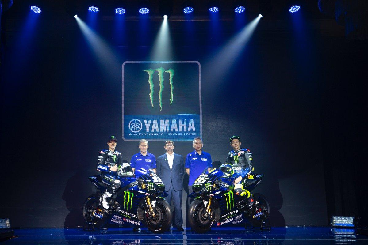 MotoGP- La nuova Yamaha di Rossi e Vinales è pronta