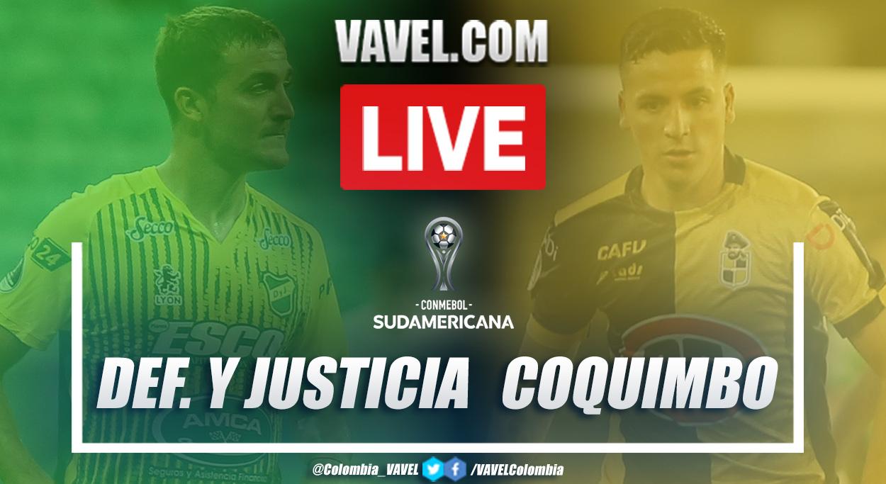 Resumen y goles: Defensa y Justicia (4-2) Coquimbo en la vuelta de la semifinal de la Copa Sudamericana 2020