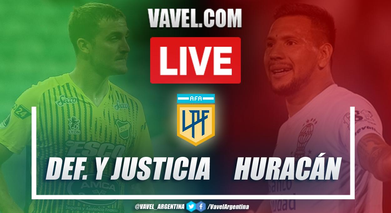 Resumen Defensa y Justicia vs Huracán (3-2) por Copa de la Liga Profesional