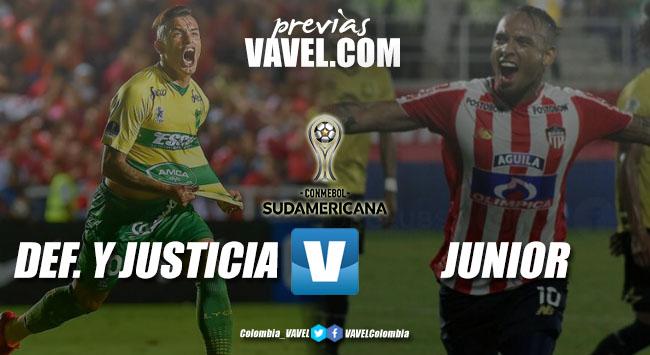 Previa Defensa y Justicia vs Junior: semifinales a la vista