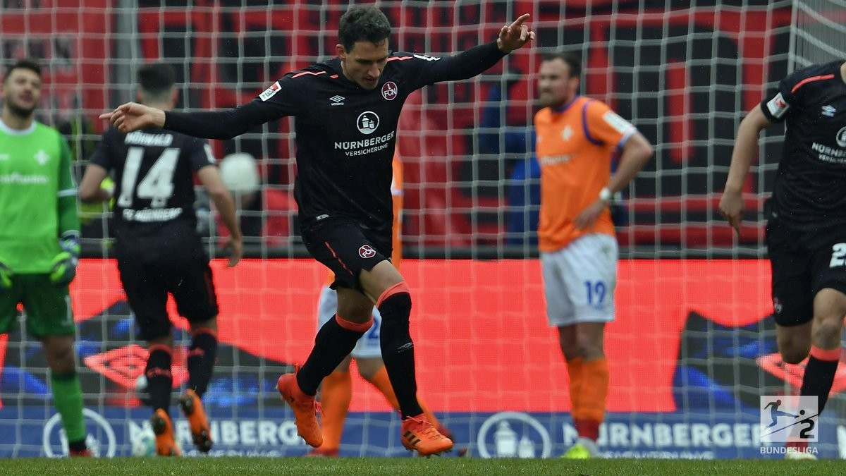 1. FC Nürnberg 1-1 SV Darmstadt 98: Der Club battle back to earn a point