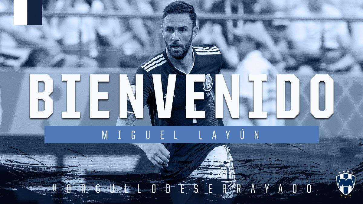 Confirmó Rayados la llegada de Miguel Layún
