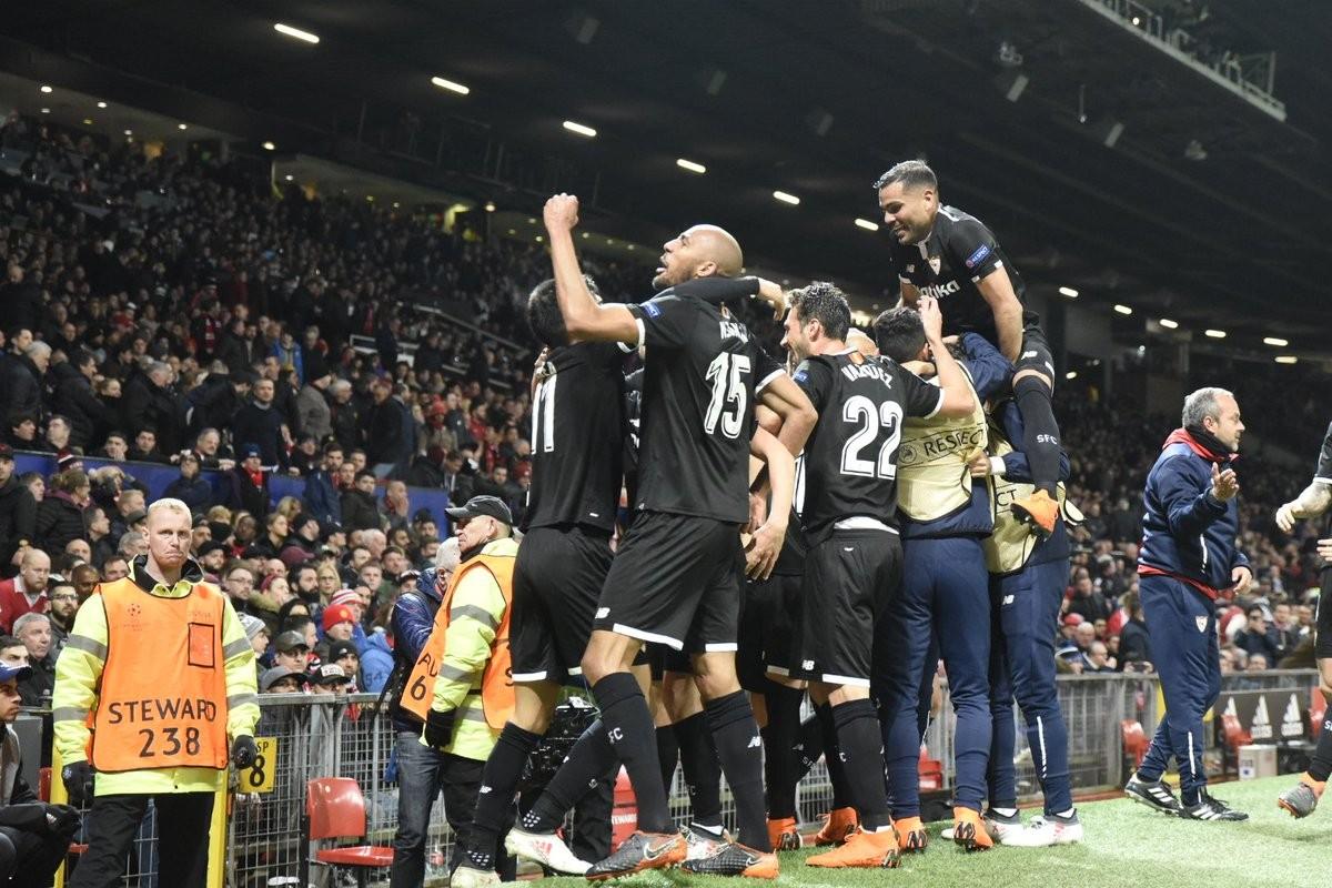 Champions League: Montella commenta il successo del Siviglia contro il Manchester United
