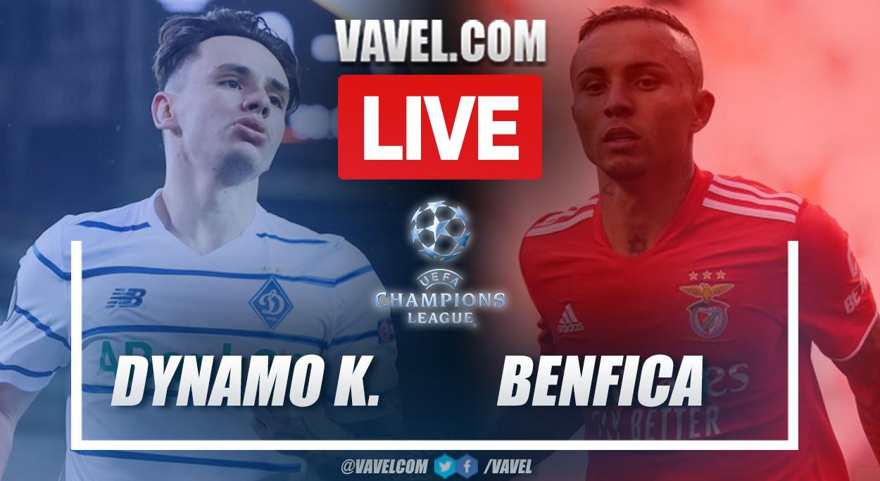 Highlights: Dynamo Kyiv 0-0 Benfica in UEFA Champions League 2021-22